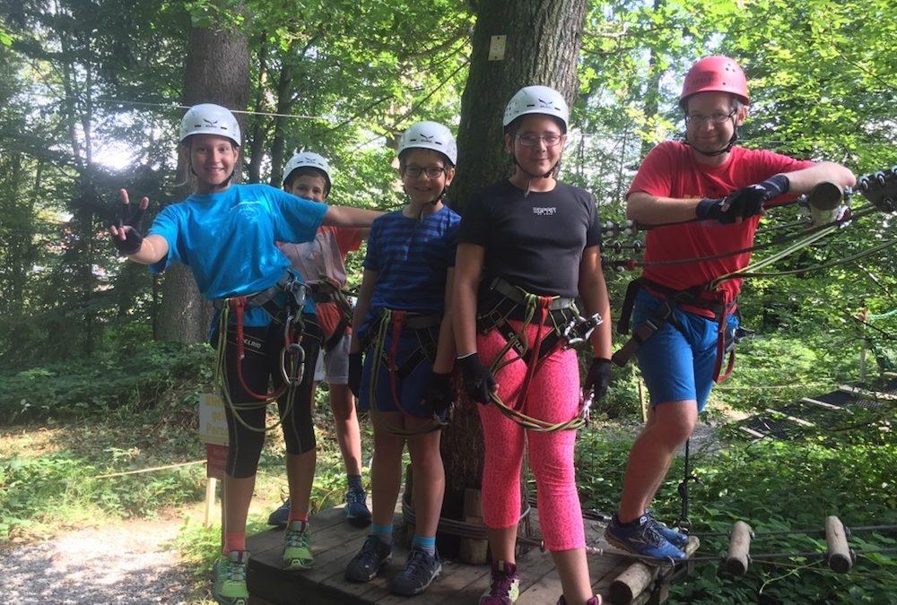 Hoch in den Bäumen – Ferienprogramm Pfingsten