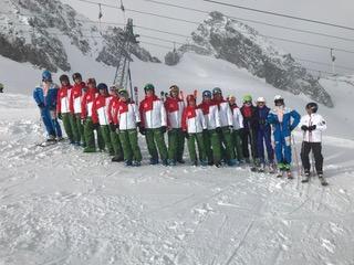 Ski-Club Passau e.V. im Stubai auf Lehrteam-Schulung