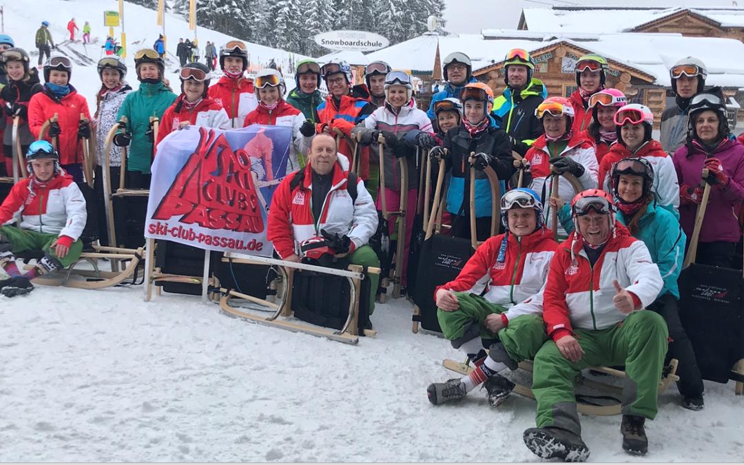 Ski-Club Passau auf Mondscheinfahrt