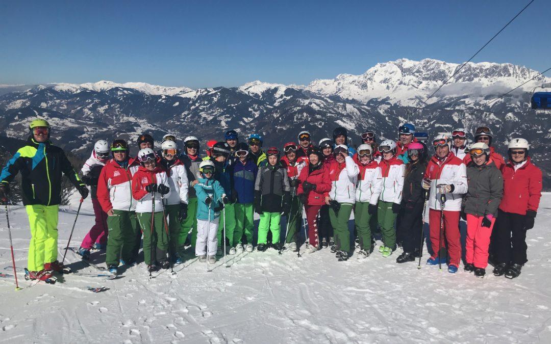Saisonabschluss des Ski-Clubs Passau im Snow Space Salzburg