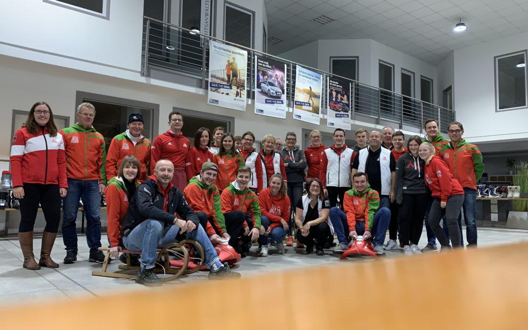 Großer Besucherandrang beim Skimarkt des Skiclubs Passau