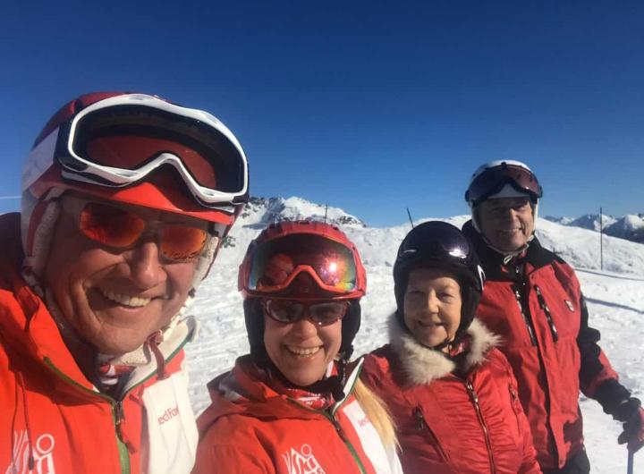 """Ski-Club Passau beim """"Genuss-Skifahren"""" in Osttirol"""